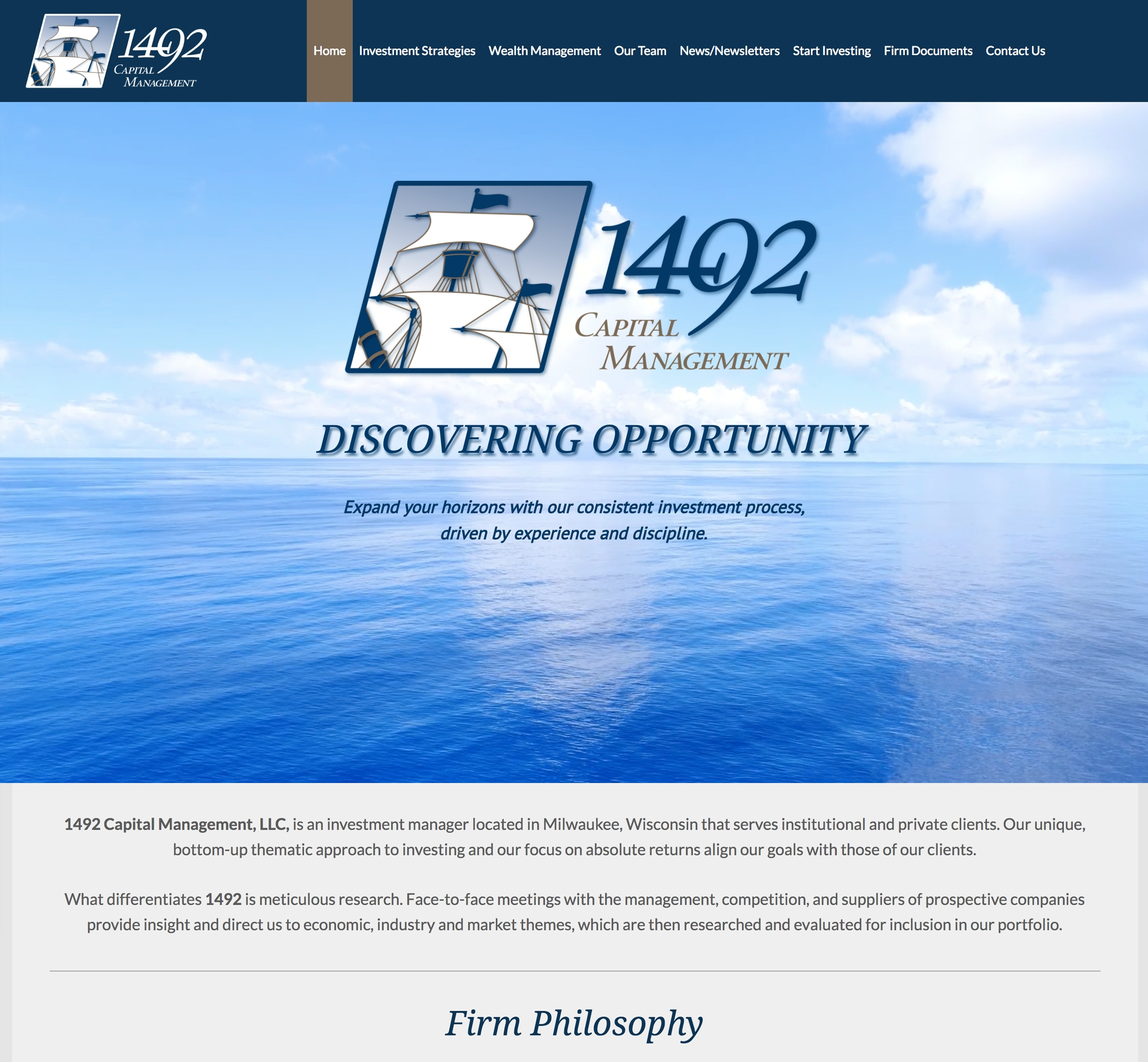 1492 Capital Management