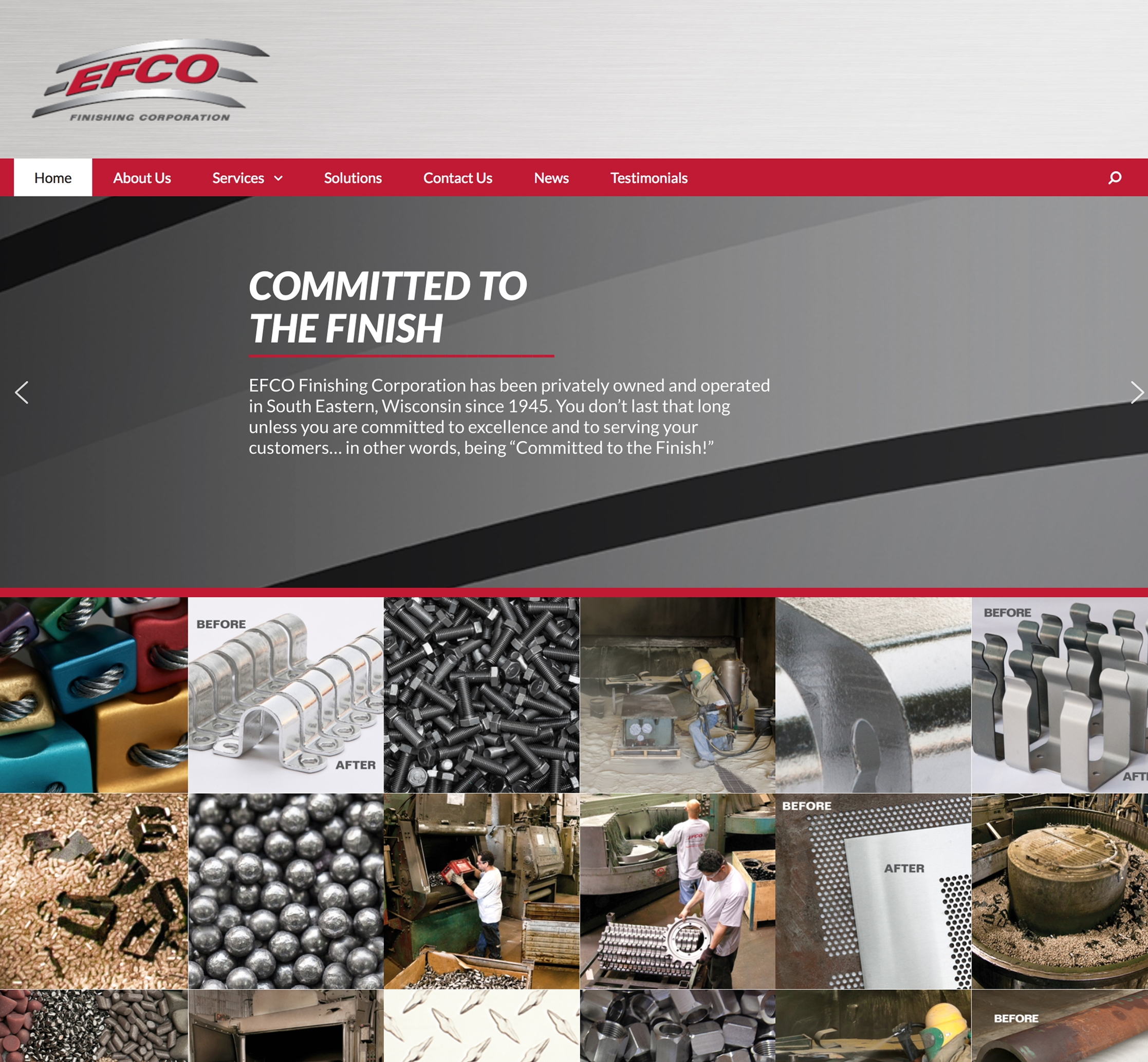 EFCO Finishing Corporation